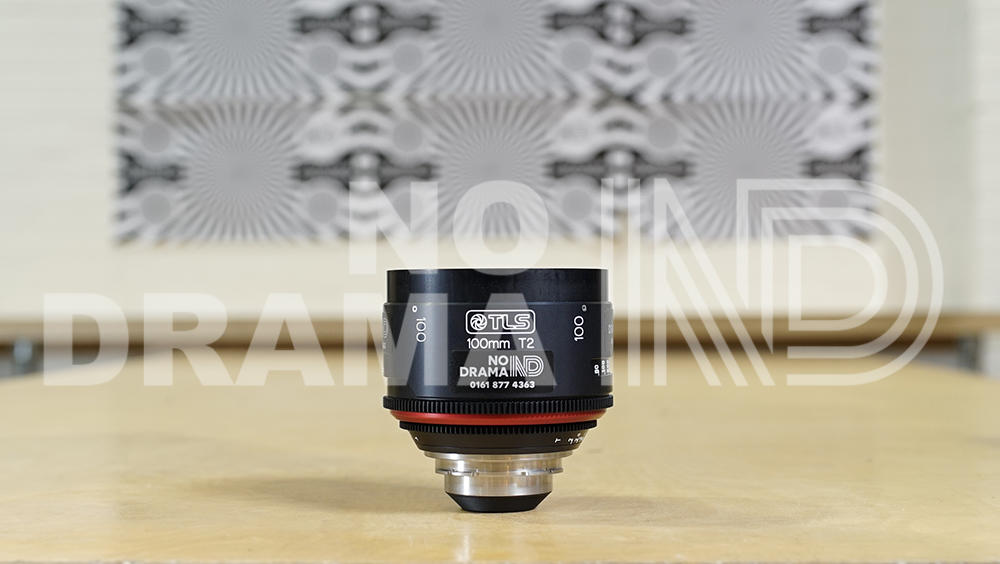 Canon 100mm FD lens rehoused by TLS